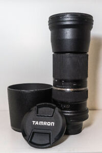 Tamron 150-600mm f5-6.3 SP USD lens for - Sony A mount