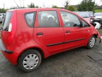 mitsubishi colt parts from 3 2007 cars 2 red 1 blue 5 door and 3 door