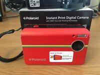 BARGAIN polaroid Z2300 10MP digital instant print camera-RED