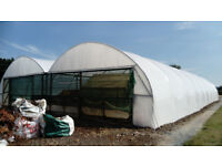 72'x42' Farm Building-polytunnel, general storage or horticulture