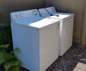 GE Washer/Dryer pair