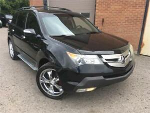 ACURA MDX 2009/VGA/AC/7 PASSAGERS/GPS/CAMERA RECUL/CUIR/AUX