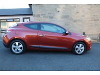 Renault Megane 1.5 dCi Dynamique 2dr - Tom Tom - 2010 Diesel MOT until 20th May 2018