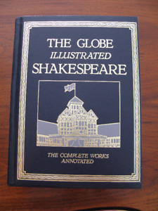 1986 Illustrated Shakespeare, Complete Works, The Globe, H.cover