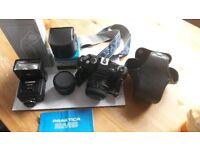 Praktica bms film camera + extras