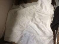 Winter duvet+summer duvet+3pillows + 2 blankets + duvet cover