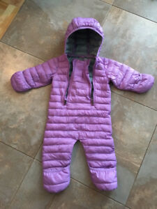 LL Bean Infants' Ultralight 650 Down Bunting Suit