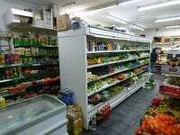 178 inch 4.5m Display fridge, chiller cabinet for offlicence grocery. Fully working