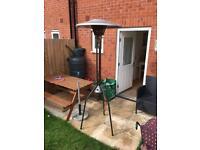 Garden gas heater
