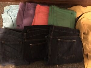 Old navy jeans(plus size) and large sweaters