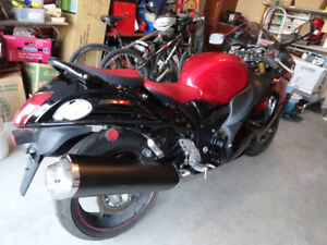 2014 Suzuki Hayabusa 1300 GSX -R 2814km BEAUTIFUL $11900