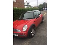 AMAZING CONDITION CHILLI RED MINI HATCHBACK 52 number plate