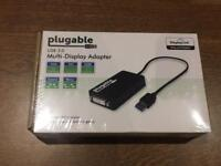 Multi-Display Adapter VGA DVI HDMI