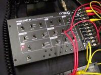 Moog Werkstatt Eurorack Semi Modular Analogue Synthesizer