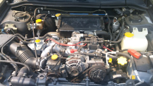 Manual 2001 Subaru forester s\tb low kms**PARTS**