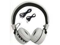 Bluetooth wireless Foldable Folding Over Headphones for iPod iPad iPhone Uk