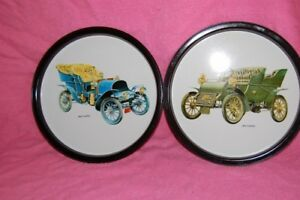 Classic Cars Drink Trays