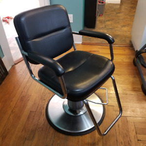 Hairstylist Chair, Shampoo Bowl and Shampoo Chair