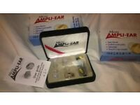 HEARING AIDS 'MICRO AMPLI-EAR' HEARING DEVICES AIDS