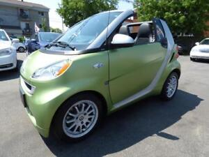 2011 SMART FORTWO PASSION CABRIOLET (CUIR, NAVI, BT, CRUISE!!!)