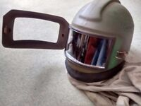 NOVA 2000 BLAST CLEANING HELMET (Used), SANDBLASTING, BLASTING, FULL FACE