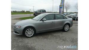 2011 Audi A4 2,0T**AWD,TOIT,CUIR**70$/SEMAINE
