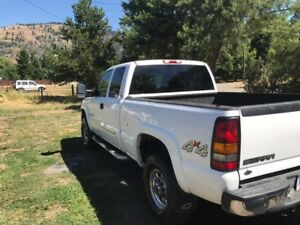 2007 gmc 2500 hd chevy 4x4