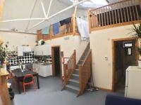 2 Large Double Warehouse Rooms in cool shared 5 bed house- All bills inc, Big Lounge
