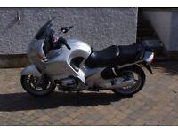 2003 BMW R1150RT, 30500 miles, MOT 07/2018, new set Bridgestone tyres, full luggage
