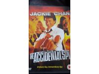 Jackie Chan The Accidental Spy UK DVD