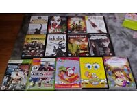 Dvd bundle and xbox 360 games