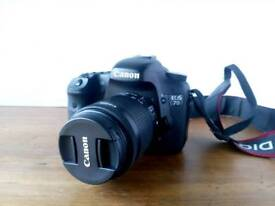Canon 7d with extras