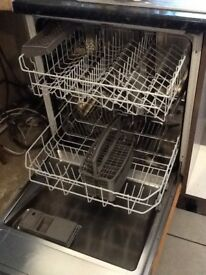 Integrated Bosch dishwasher, in working condition, standard size