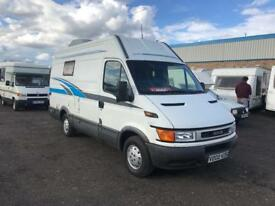 2000 IVECO DAILY LWB HIGH ROOF CAMPER VAN MOTORHOME CONVERSION