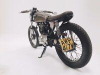 Honda CG125 Cafe Racer / Brat / Rat — Life & Engines Show Bike