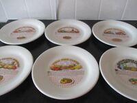 Set Of 6 Dinner Plates
