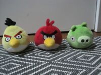 Angry Birds, Moshi and Super Moshi Monsters Cuddly Toy Collection including Large Talking Poppet