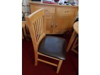 4 KITCHEN DINNING CHAIRS £45.00 For All 4