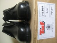 NEW TUF LEATHER SAFETY BOOTS/SHOES - SIZE 9 - (Kirkby in Ashfield)