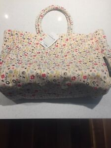 New with tags Keep Leaf Bloom organic diaper bag tote