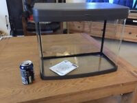 Fish Tank 40l litres Panorama Aquarium heater filter plus extras tropical or coldwater £70 ONO