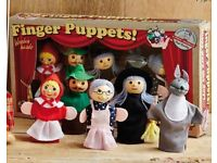 Set of 5 Finger Puppets Game (NEW)