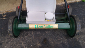 "Lee Valley 20"" reel mower"