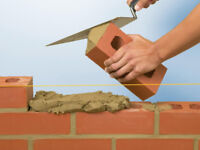 Brick layers wanted $1/block approx $30/ hr