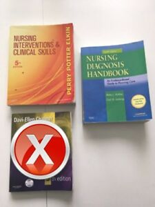 Nursing School Textbooks - 1st Term