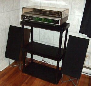 Ultra Rare Philips Stereo System with Pioneer Speakers