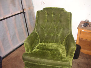 Very Comfortablr swivel & rocking chair
