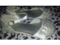 Girls size 12 bridesmaid shoes