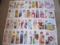40 CROSS STITCH MAGIC MAGAZINES WITH CHARTS & TRANSFERS, NO KITS-MAINLY UNUSED COLLECT ONLY BENFLEET