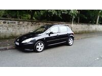 2005 PEUGEOT 307 SPORT 1.6 MOT END OCT TAX FEB IMMACULATE CONDITION LOW MILEAGE TOP SPEC £495